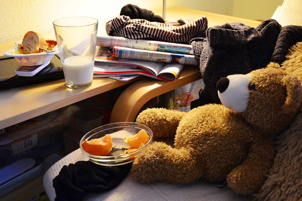Messy bedrooms can be a sign of intelligence and creativity