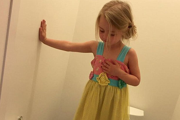 "Mum's ""mischievous"" photo of daughter has disturbing truth"