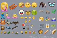 Love Kiwifruit? You can share it with the new 72 emojis released