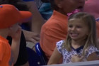 Little boy impresses whole stadium with cutest gesture