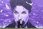 Kiwi artist puts together stunning mural for Prince in his hometown