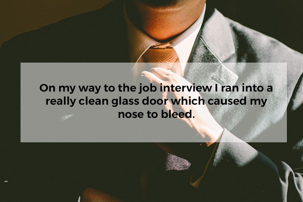 Biggest mistakes people have made in job interviews