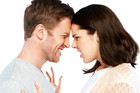 Husband critiques wife with spousal performance review