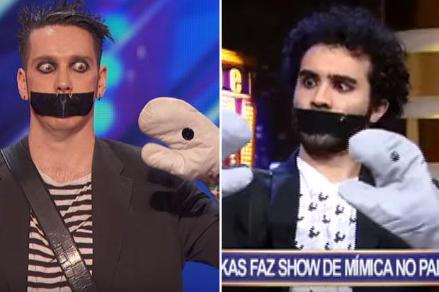 Brazil TV show steals Kiwi's Tape Face 'Got Talent' audition