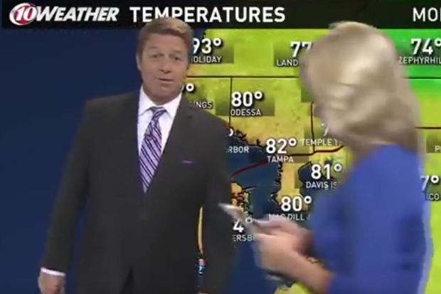 Weatherman's live TV report gets disrupted by Pokemon Go player