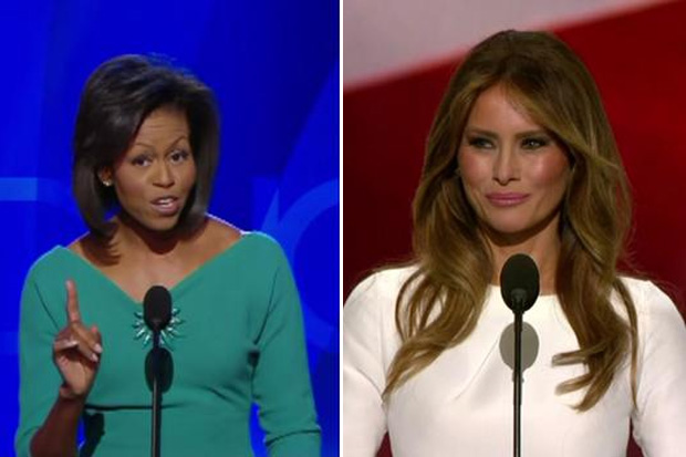 Melania Trump steals speech from Michelle Obama, and Rick Astley?