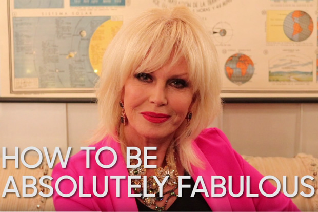 Joanna Lumley's 5 tips to being 'Absolutely Fabulous'
