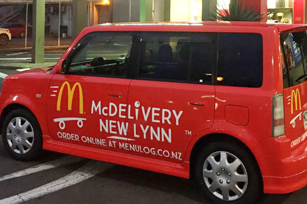 McDonald's launch McDelivery service in New Zealand