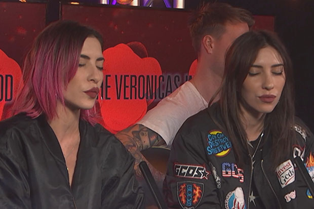 The Veronicas perform 'In My Blood' live and acoustic