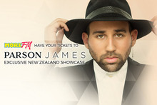 Win exclusive tickets to see Parson James live in concert
