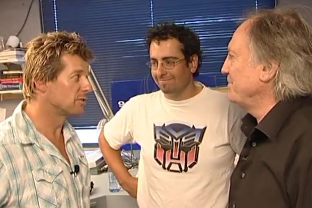 Si & Gary's Vault: Bondy's Breakfast Show Initiation 2008