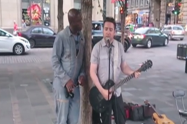 Watch: Seal surprises public by performing and no one notices