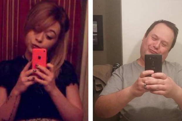 Dad teaches daughter a lesson by posting 'sexy selfies' online.