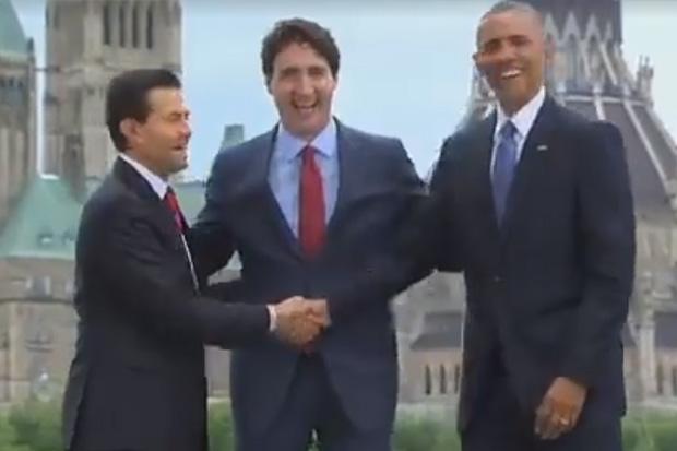 Watch: The 3 way handshake returns!
