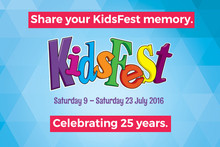 Share your Kidsfest memory to win!