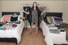 Actress proves you can pack 130 items into a carry-on bag