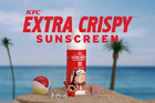 KFC offer free sunscreen that smells like fried chicken