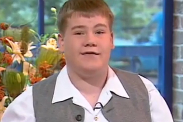 Watch a baby-faced James Corden in one of his first TV interviews