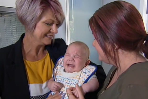 Mother gives birth to her own grandson