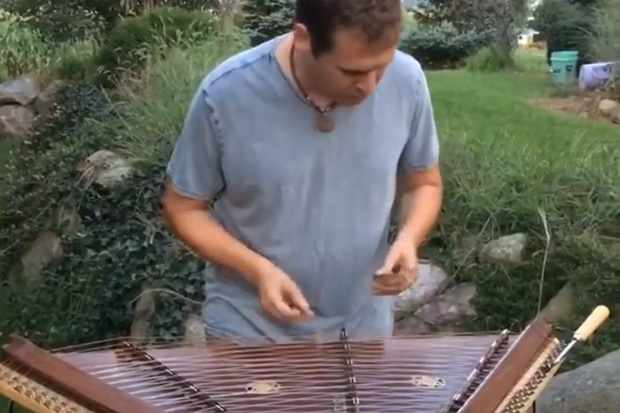 "Dulcimer Dad's 'Tears for Fears' cover ""rules"" over Facebook"