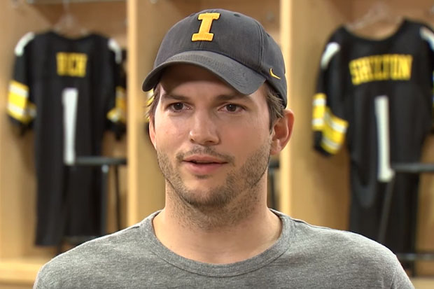 Ashton Kutcher explains how his daughter picked up the 'F' word