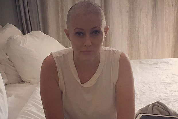 Shannen Doherty shares intense photos from her cancer chemo treatment