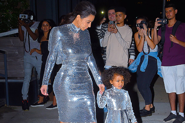 Kim Kardashian defends her parenting skills over daughter's fashion