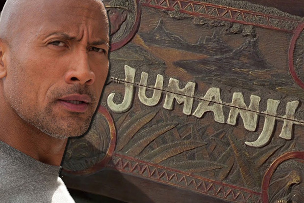Dwayne 'The Rock' Johnson shares photos from the new Jumanji reboot