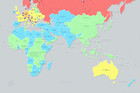 Map claiming to chart global breast sizes slammed as 'disgusting'