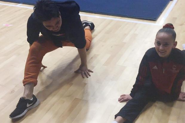 Simon's Cartwheel Lesson