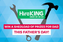 Shedload of Prizes with HireKING