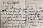 Student anonymously writes letter to teacher after learning her husband is dying