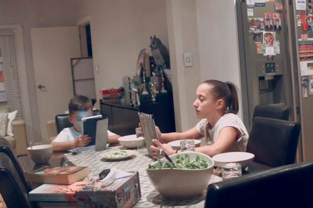 These kids don't notice when their family is replaced with strangers