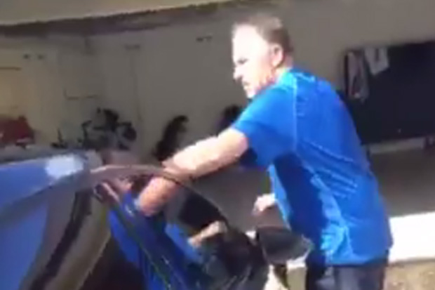 John Key's son films him washing the car and it's surprisingly funny