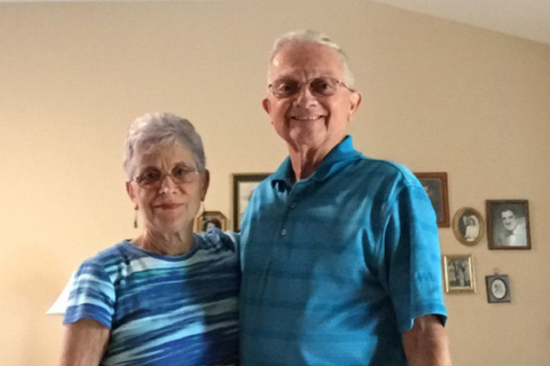 This couple has been wearing matching outfits for 52 years