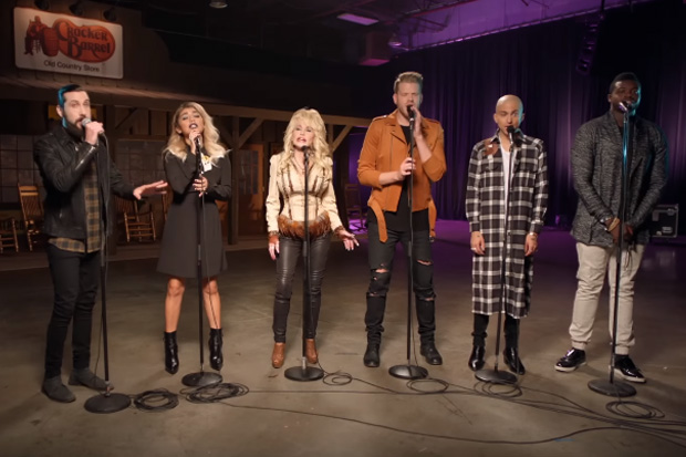 Pentatonix and Dolly Parton's version of 'Jolene' will give you chills