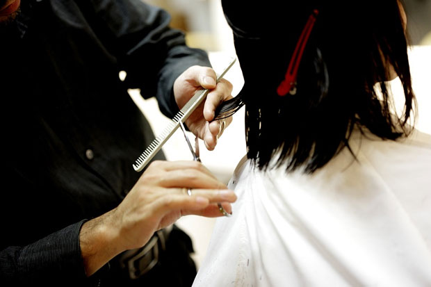 Women forced to stay at hair salon after not having enough money to pay