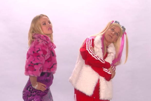 Ellen and Kristen Bell audition to become the next Spice Girls