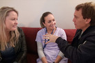 Lana & Jase get advice from the cast of Shortland Street