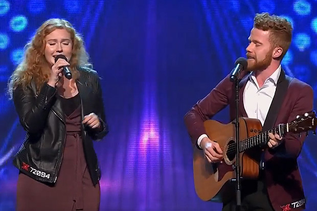 Queenstown's Brentwood Duo get the first standing ovation on X Factor Australia
