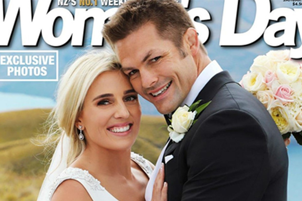 See the first pics of Richie and Gemma McCaw's wedding day!