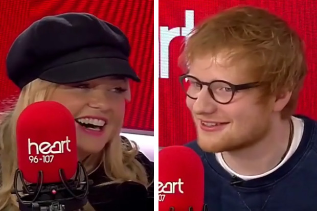 Ed Sheeran sings Spice Girls classic with Emma Bunton