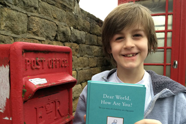 Young boy was inspired to write to the world after reading 'A Letter To New Zealand'