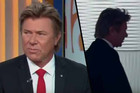 Aussie presenter Richard 'Dickie' Wilkins, walks off a live show after his hair was joked about