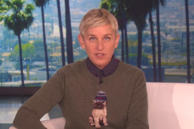 Ellen makes emotional tribute to outgoing President Barack Obama