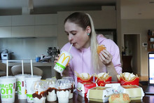New Zealand girl stomachs $40 McDonalds Share Box in one sitting