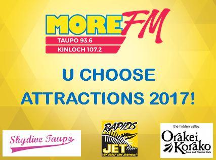 UChoose Attractions 2017