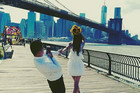 Boyfriends struggle to take their girfriend's perfect Instagram photo