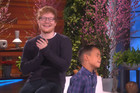 Kid gets the surprise of his life after realising Ed Sheeran is watching his performance of 'Thinking Out Loud'