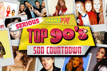 Win the ultimate 90s trip in Los Angeles with More FM's 90s Countdown!